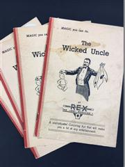 Sale 8539M - Lot 62 - Rex, The Ace Magician, 'The Wicked Uncle', 4 vols, c. 1935