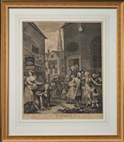 Sale 8068A - Lot 85 - William Hogarth (1697-1764), After - Noon