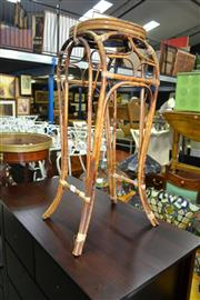 Sale 8093 - Lot 1096 - Tiger Cane Plant Stand