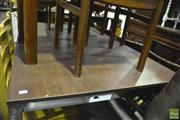 Sale 8368 - Lot 1060 - Metal Based Dining Table