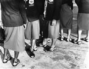 Sale 8754A - Lot 58 - Fiji Rugby Union Team Arrival to Sydney, 1961 - 20 x 25cm