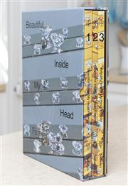 Sale 8866H - Lot 81 - A boxed set of Damien Hirst Sothebys catalogue 1,2 & 3 titled Beautiful inside my head forever London Sept 2008  .