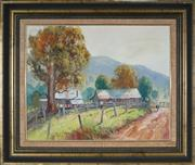 Sale 8973 - Lot 2022 - James Wynne (1944 - ) - Batar Creek Road Farm, Kendall 40 x 50 cm (frame: 57 x 67 x 5 cm )