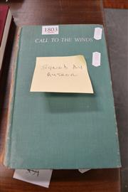 Sale 8013 - Lot 1803 - Signed Call To The Winds By P.G. Taylor