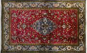 Sale 8276B - Lot 5 - Persian Kashan 112cm x 160cm RRP $600