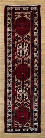 Sale 8566C - Lot 11 - Persian Abada Runner 318cm x 90cm