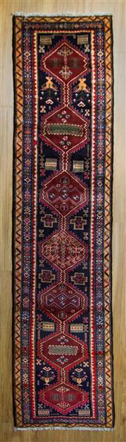 Sale 8566C - Lot 12 - Persian Hamadan Runner 310cm x 71cm