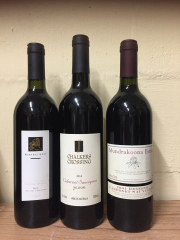 Sale 8677B - Lot 931 - Three mixed cabernet Sauvignon including Chalkers Crossing