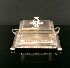 Sale 7311 - Lot 44 - A SILVER PLATED BUTTER DISH