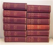Sale 8261A - Lot 36 - Full set (12 volumes) of Official History of Australia in War 1914-1918, edited by CEW Bean, including the Anzacs, Western Front and...
