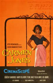 Sale 8330A - Lot 51 - 'Carmen Jones' & 'The Band Wagon' - 105.5 x 68cm; 105.5 x 68cm