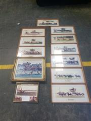 Sale 8949 - Lot 2088 - Large Collection of Horse Racing Related Framed Posters