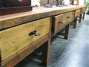 Sale 7923A - Lot 1397 - Large Industrial Style Work Bench