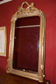 Sale 7962B - Lot 4 - Large highly decorative gilt French style mirror