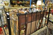 Sale 8161 - Lot 1077 - Brass And Iron Double Bed