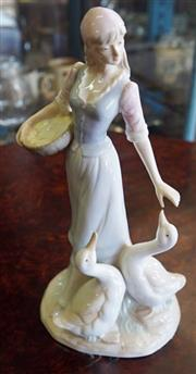 Sale 8320 - Lot 809 - 1960s Bonn figurine of a young maiden