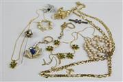 Sale 8463 - Lot 95 - Group of Costume Jewellery incl Silver