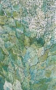 Sale 8892A - Lot 5039 - Gloria Petyarre (c1945 - ) - Bush Medicine Leaves 153 x 95cm (stretched and ready to hang)
