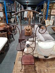 Sale 8904 - Lot 1067 - Wrought Iron Valet
