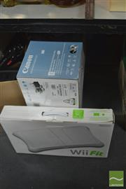 Sale 8407T - Lot 2442 - Canon Printer & a Nintendo Wii Fit