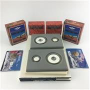 Sale 8618 - Lot 68 - Ten Dollar Uncirculated Silver Proof Sets with Holey Dollar Set