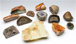 Sale 9164 - Lot 212 - A large selection of agates and other minerals