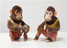 Sale 9188 - Lot 1215 - Pair of vintage Lincoln clapping monkeys