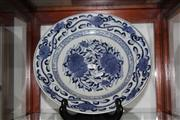 Sale 8123 - Lot 3 - Blue & White Export Ware Plate