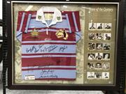 Sale 8805A - Lot 887 - Team of the Century - The All Time Greatest Players 1908-2008 Jersey, signed & framed