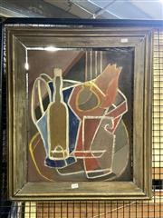 Sale 8895 - Lot 2028 - Margarita Medina - Untitled (Still Life), 1952, oil on board, 51 x 41cm, signed and dated verso