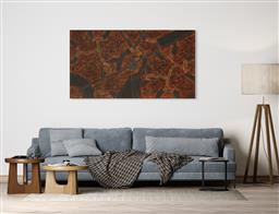 Sale 9128A - Lot 5017 - Gracie Morton Pwerle (c1956 - ) - Womens Travelling Tracks 110 x 200 cm (stretched and ready to hang)