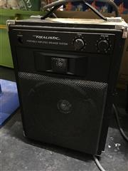 Sale 8659 - Lot 2503 - Realistic Portable Speaker System