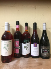 Sale 8677B - Lot 936 - Four bottles of rose plus two pinot noir, including monkey bay