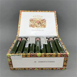 Sale 9120W - Lot 1455 - Punch 'Coronation' Cuban Cigars - box of 25, dated December 2017