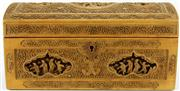 Sale 8079 - Lot 92 - Late Qing to Repbulic Chinese Carved Boxwood Chest