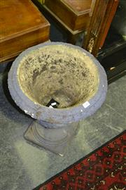 Sale 8093 - Lot 1385 - Concrete Urn Form Planter