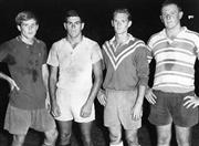 Sale 8754A - Lot 64 - Western Suburbs Players, Concord Oval, Sydney, 1966 - David Barnes, Grahame Turner, Bryan Fitzpatrick and Paul Kingston 22 x 31cm