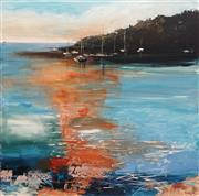 Sale 8838A - Lot 5087 - Cheryl Cusick - The Bay 100 x 100cm