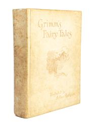 Sale 8864 - Lot 73 - RACKHAM, Arthur, illustrator (1867-1939), Brothers Grimm - The Fairy Tales Translated by Mrs. Edgar Lucas