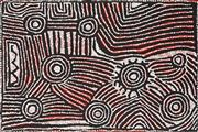 Sale 8875A - Lot 5052 - Maisie Napaltjarri Campbell (1958 - ) - Women's Dreaming 60 x 90 cm (stretched and ready to hang)