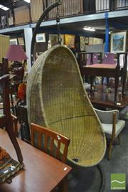Sale 8323 - Lot 1067 - Hanging Cocoon Chair