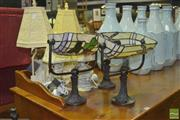 Sale 8331 - Lot 1525 - Collection of Seven Table Lamps