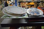 Sale 8548 - Lot 2376 - Collection of Large Ceramic Serving Platters