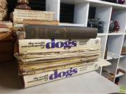 Sale 8563T - Lot 2408 - Collection of Dog Books & Magazines incl. Shaw, V. The Encyclopedia of the Kennel, pub. G. Routledge & Sons, 1913; The World Ency...