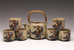 Sale 9107 - Lot 40 - A Ceramic Chinese Tea Service For 6