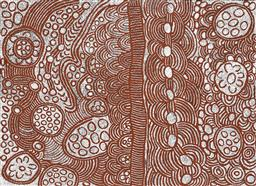 Sale 9239A - Lot 5044 - MARLENE YOUNG NUNGURRAYI (1973 - ) Minyma Tjukurrpa acrylic on canvas 153 x 201 cm (stretched and ready to hang) signed verso; certi...