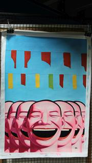 Sale 8011A - Lot 78 - Contemporary Chinese School (XX - ) - Tickled Pink 60 x 90cm