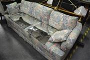 Sale 8093 - Lot 1110 - Floral Upholstered 3 Seater Sofa