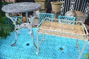 Sale 8338 - Lot 1399 - Two Garden Tables