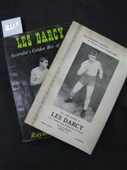 Sale 8125 - Lot 34 - The Life Story of Les Darcy by FJ Ferry, third edition c.1938; together with Les Darcy by Swanwick, Ure Smith 1965 in original paper...